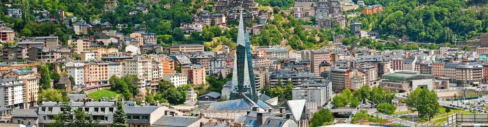 Andorra la Vella - Hoteles baratos en Andorra la Vella. Mapas de Andorra la Vella, Fotos y Comentarios para cada alojamiento en Andorra la Vella.
