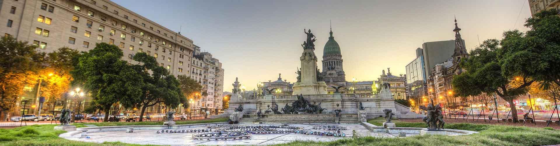 Buenos Aires - Hoteles baratos cerca a Aeropuerto Jorge Newbery. Mapas de Buenos Aires, Fotos y Comentarios para cada hotel en Buenos Aires.
