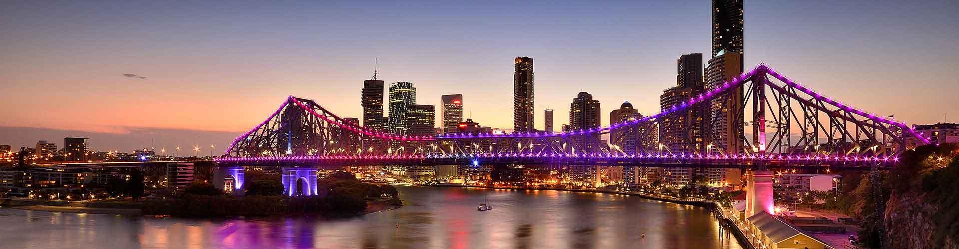 Brisbane - Habitaciones en el distrito New Farm. Mapas de Brisbane, Fotos y Comentarios para cada habitación en Brisbane.