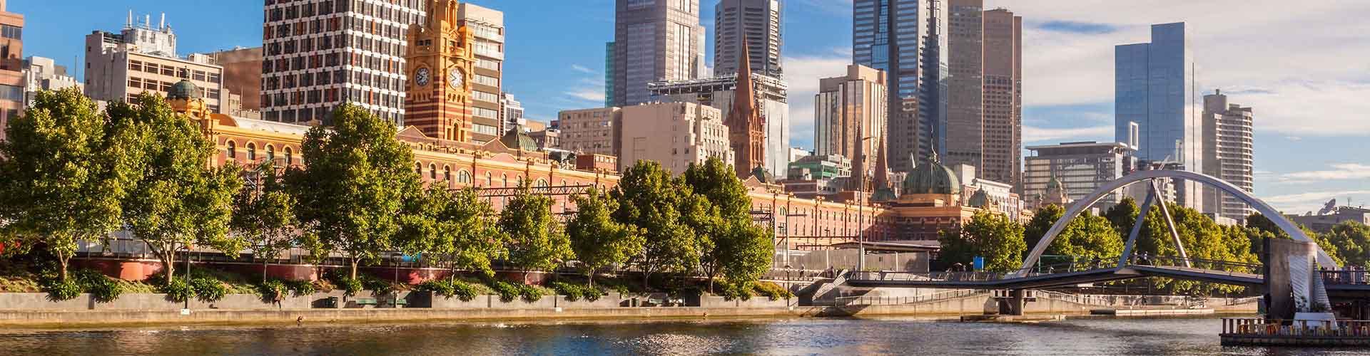 Melbourne - Habitaciones en el distrito Melbourne. Mapas de Melbourne, Fotos y Comentarios para cada habitación en Melbourne.