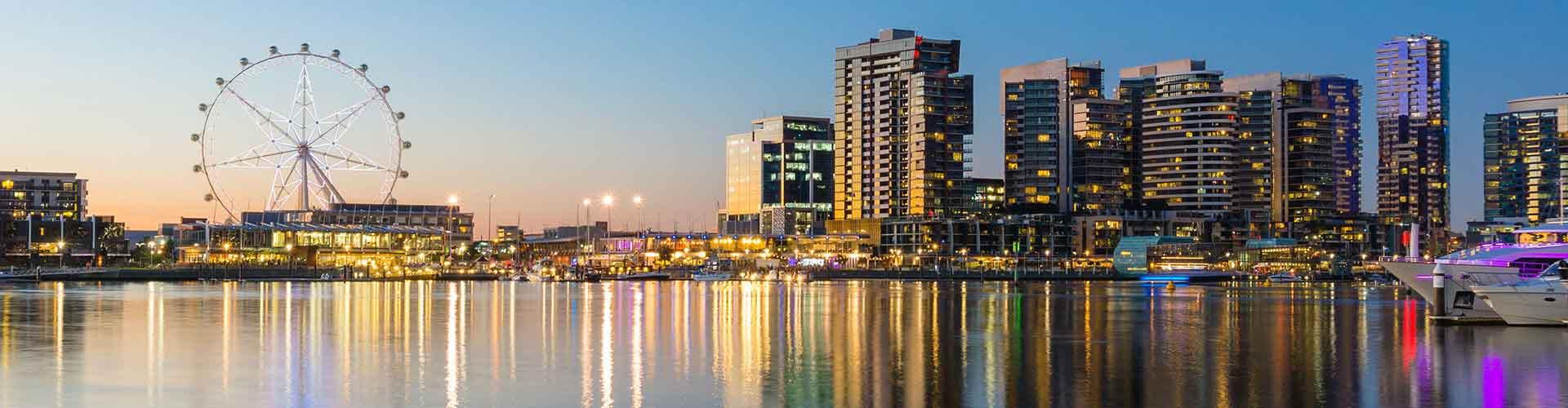 Melbourne - Habitaciones en el distrito Carlton. Mapas de Melbourne, Fotos y Comentarios para cada habitación en Melbourne.