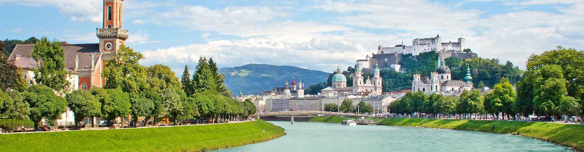 Salzburgo - Albergues Juveniles en Salzburgo. Mapas de Salzburgo, Fotos y Comentarios para cada Albergue Juvenil en Salzburgo.