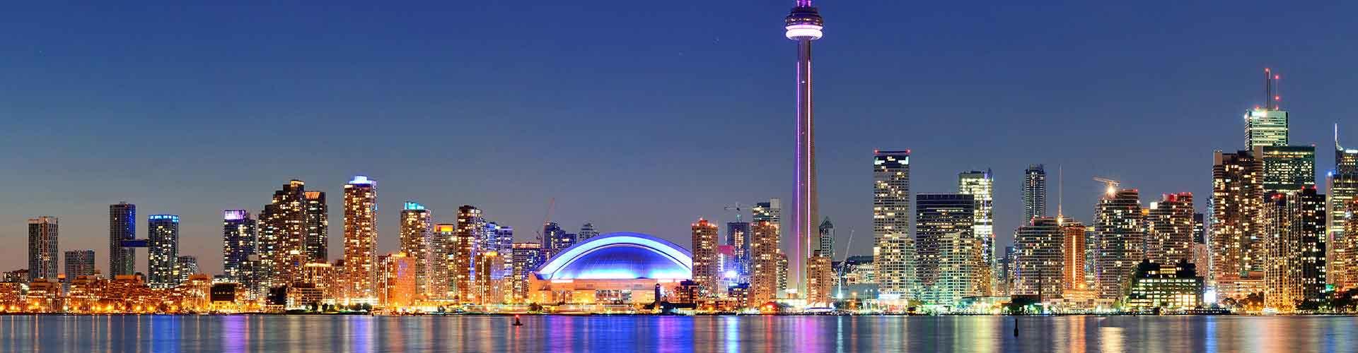 Toronto - Habitaciones en el distrito Trinity Spadina. Mapas de Toronto, Fotos y Comentarios para cada habitación en Toronto.