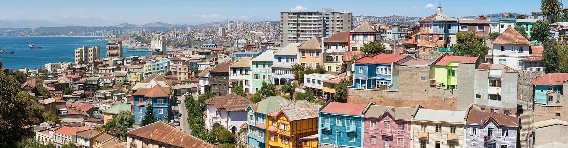Valparaíso - Albergues Juveniles en Valparaíso. Mapas de Valparaíso, Fotos y Comentarios para cada Albergue Juvenil en Valparaíso.