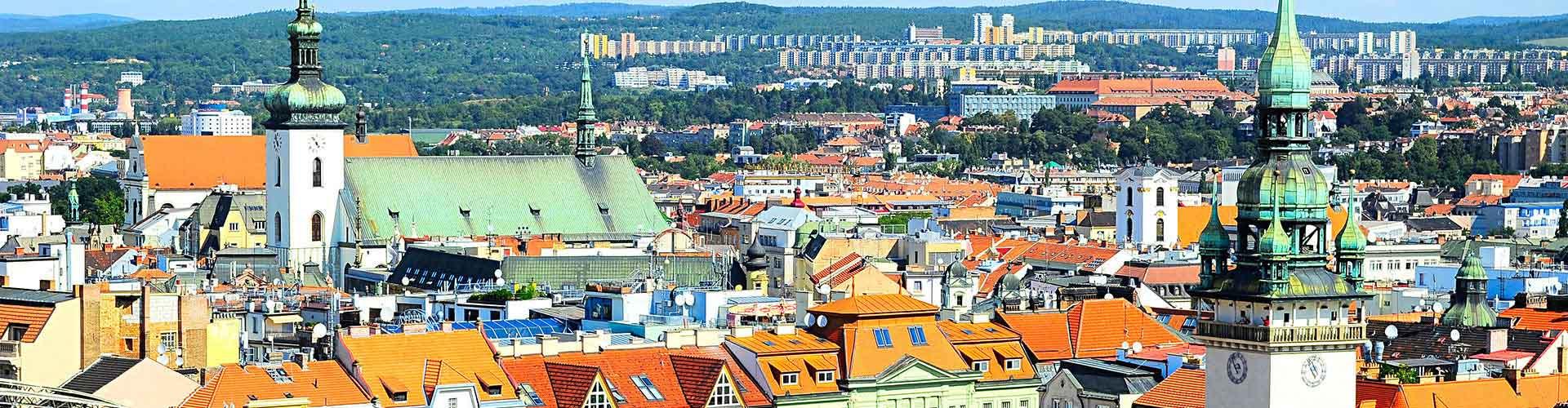 Brno - Hoteles baratos en Brno. Mapas de Brno, Fotos y Comentarios para cada alojamiento en Brno.