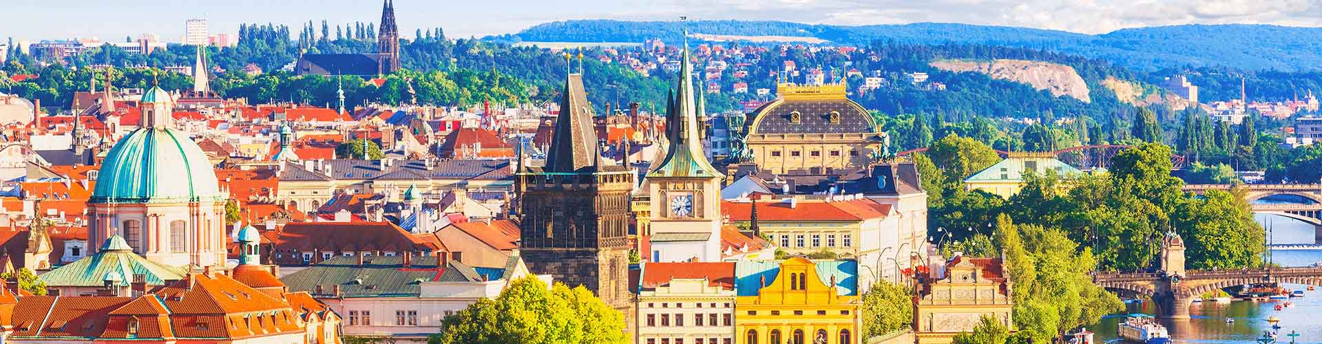 Praga - Albergues Juveniles en Praga. Mapas de Praga, Fotos y Comentarios para cada Albergue en Praga.