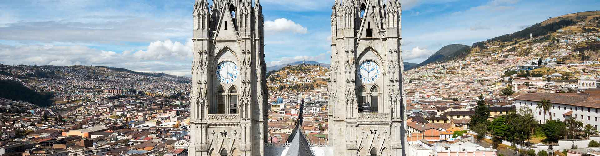 Quito - Albergues Juveniles en Quito. Mapas de Quito, Fotos y Comentarios para cada Albergue Juvenil en Quito.