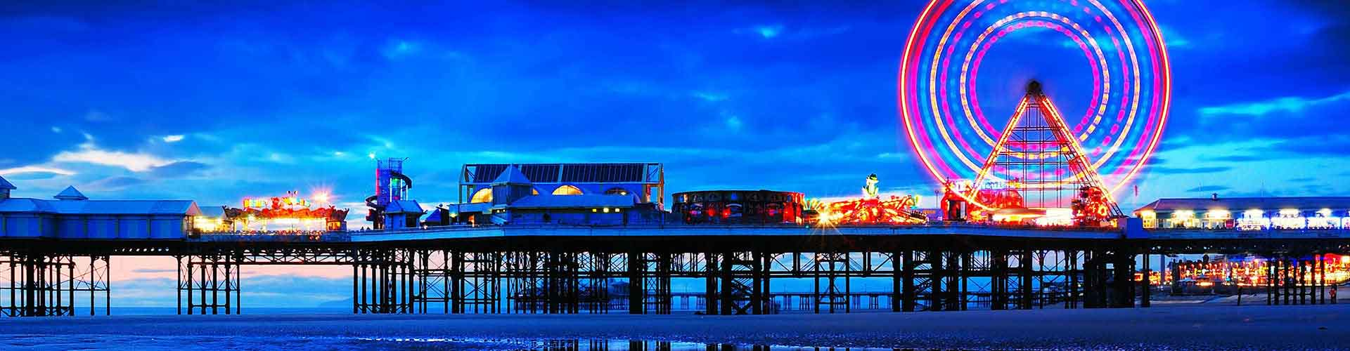 Blackpool - Campamentos cerca de Estación de tren del Norte de Blackpool . Mapas de Blackpool, Fotos y Comentarios para cada campamento en Blackpool.