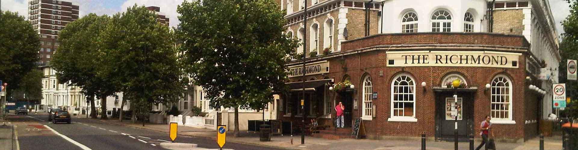 Londres - Albergues Juveniles en el distrito Municipio de Hammersmith y Fulham . Mapas de Londres, Fotos y Comentarios para cada Albergue Juvenil en Londres.