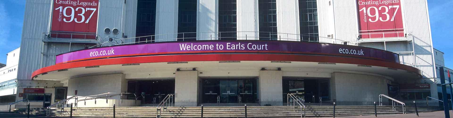 Londres - Albergues Juveniles en el distrito Earls Court . Mapas de Londres, Fotos y Comentarios para cada Albergue Juvenil en Londres.