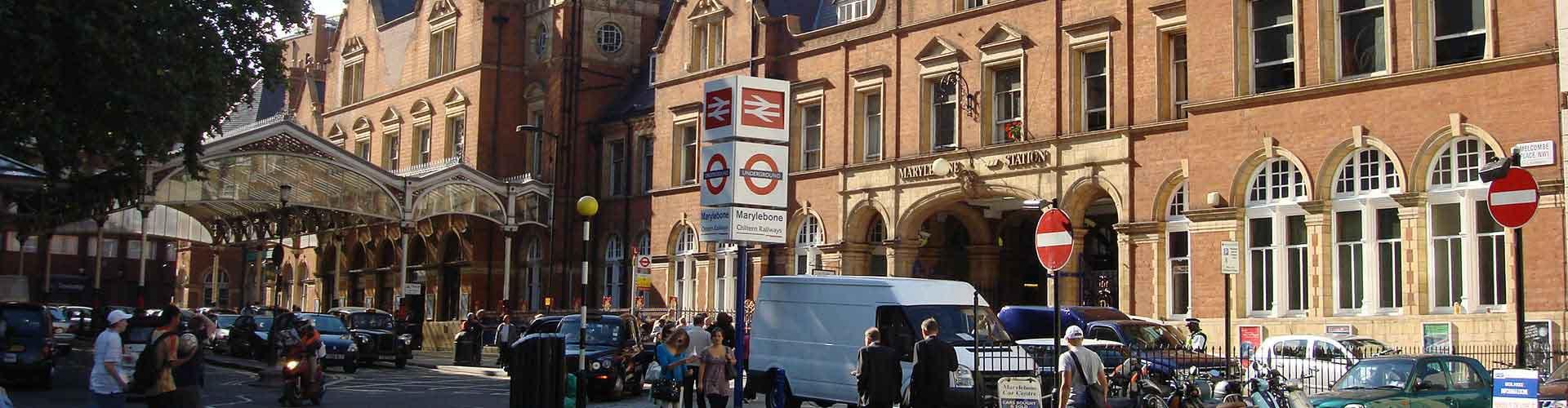 Londres - Albergues Juveniles en el distrito Marylebone . Mapas de Londres, Fotos y Comentarios para cada Albergue Juvenil en Londres.