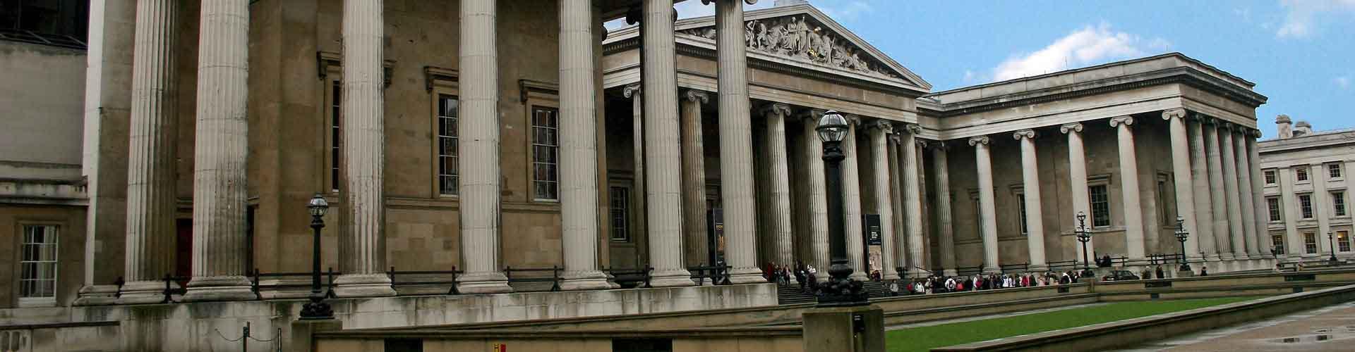 Londres - Albergues Juveniles cerca a British Museum. Mapas de Londres, Fotos y Comentarios para cada Albergue Juvenil en Londres.