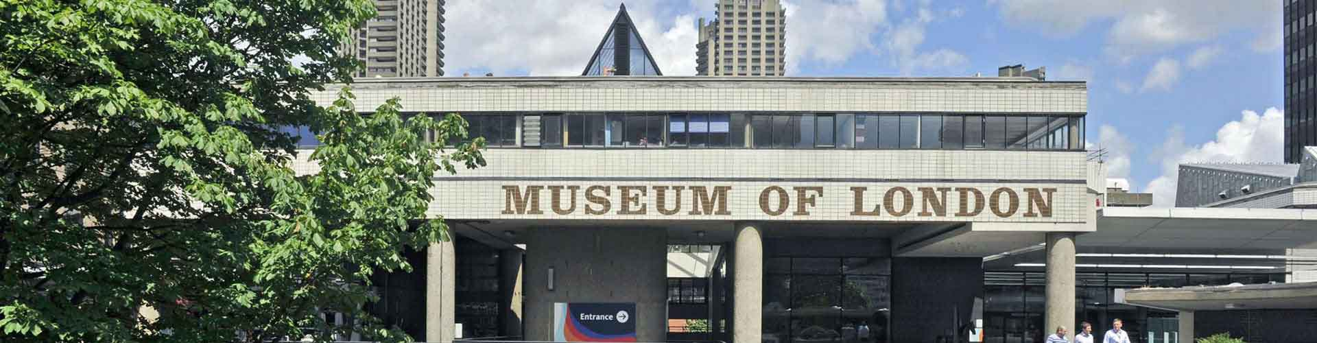 Londres - Albergues Juveniles cerca a Museo de Londres. Mapas de Londres, Fotos y Comentarios para cada Albergue Juvenil en Londres.
