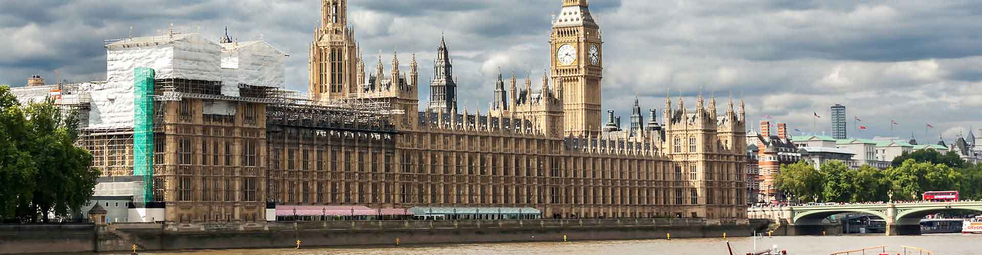 Londres - Albergues Juveniles cerca a Palacio de Westminster. Mapas de Londres, Fotos y Comentarios para cada Albergue Juvenil en Londres.