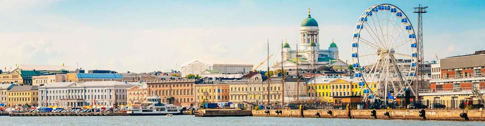 Helsinki - Hoteles baratos en Helsinki. Mapas de Helsinki, Fotos y Comentarios para cada alojamiento en Helsinki.
