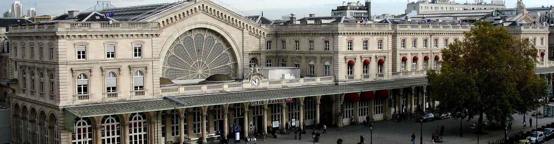 París - Albergues Juveniles en el distrito Gare de l'Est . Mapas de París, Fotos y Comentarios para cada Albergue Juvenil en París.