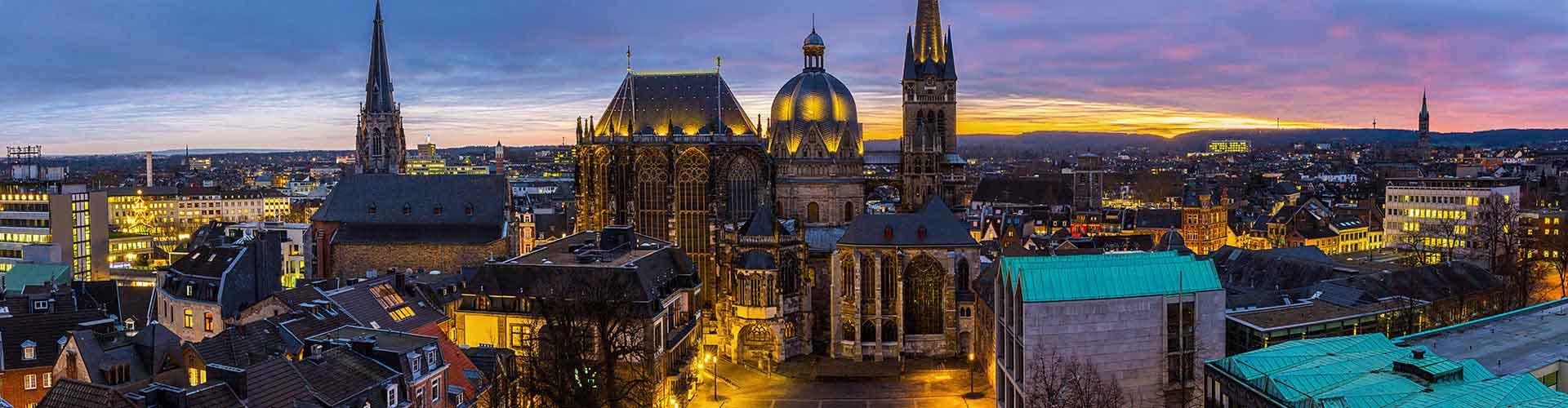 Aachen - Albergues Juveniles en Aachen. Mapas de Aachen, Fotos y Comentarios para cada Albergue Juvenil en Aachen.