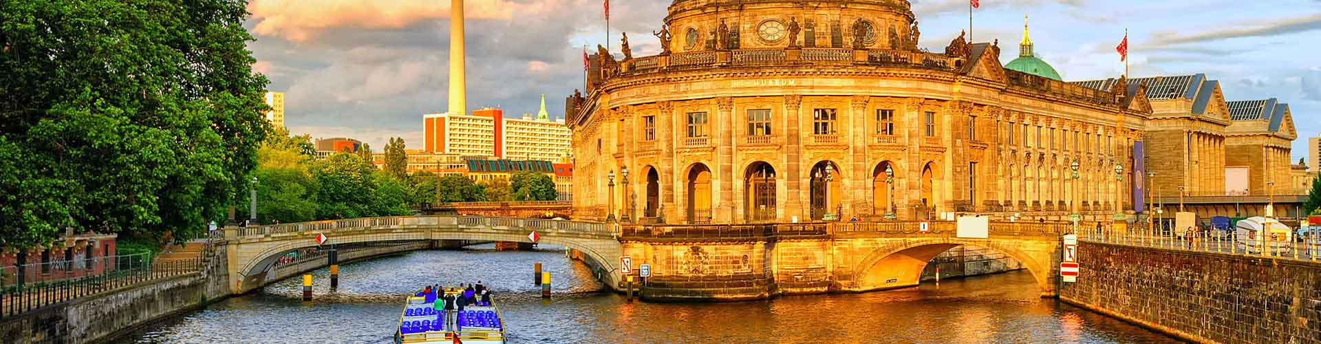 Berlín - Hoteles baratos en Berlín. Mapas de Berlín, Fotos y Comentarios para cada alojamiento en Berlín.