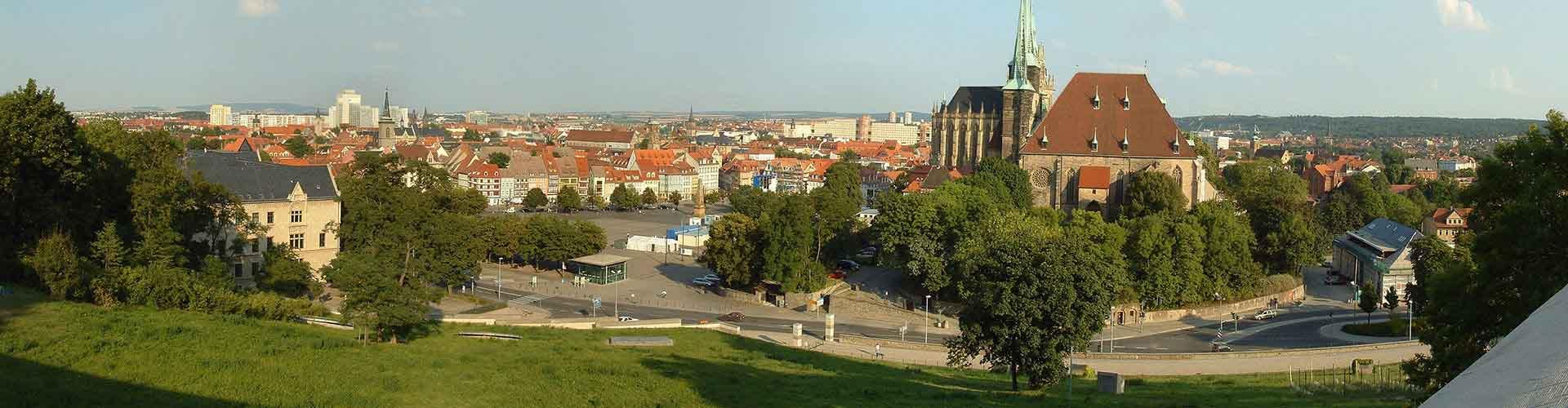 Erfurt - Hoteles baratos en Erfurt. Mapas de Erfurt, Fotos y Comentarios para cada alojamiento en Erfurt.