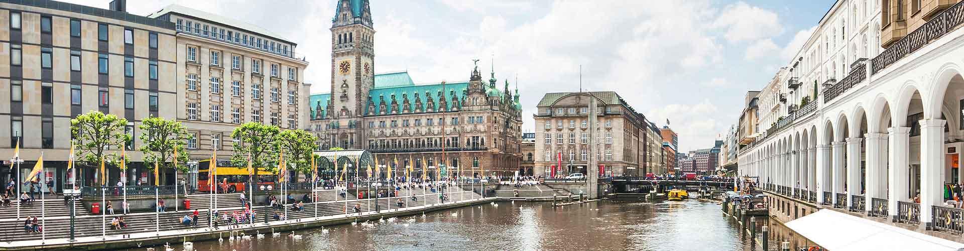 Hamburgo - Albergues Juveniles en Hamburgo. Mapas de Hamburgo, Fotos y Comentarios para cada Albergue Juvenil en Hamburgo.