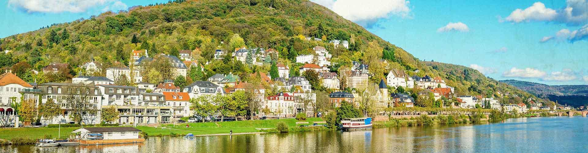 Heidelberg - Albergues Juveniles en Heidelberg. Mapas de Heidelberg, Fotos y Comentarios para cada Albergue Juvenil en Heidelberg.