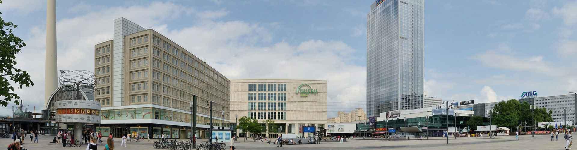 Berlín - Albergues Juveniles cerca a Alexanderplatz. Mapas de Berlín, Fotos y Comentarios para cada Albergue Juvenil en Berlín.