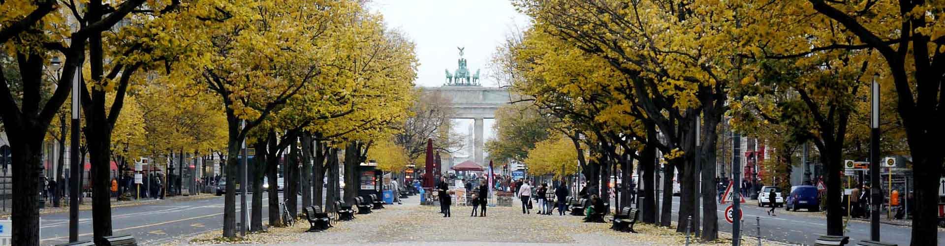 Berlín - Albergues Juveniles cerca a Unter den Linden. Mapas de Berlín, Fotos y Comentarios para cada Albergue Juvenil en Berlín.