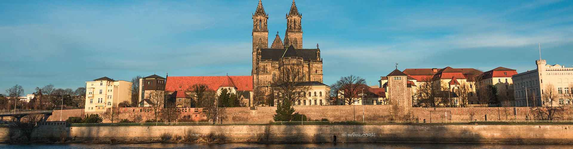 Magdeburgo - Albergues Juveniles en Magdeburgo. Mapas de Magdeburgo, Fotos y Comentarios para cada Albergue Juvenil en Magdeburgo.