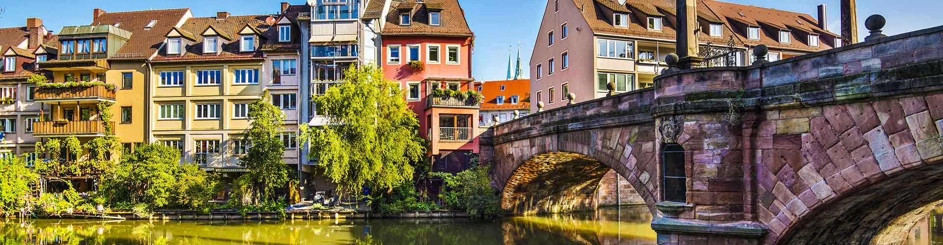 Nuremberg - Hoteles baratos en Nuremberg. Mapas de Nuremberg, Fotos y Comentarios para cada alojamiento en Nuremberg.