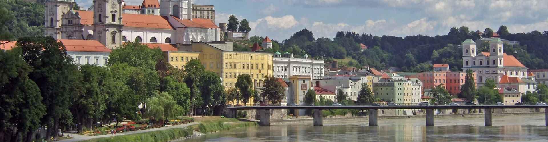 Passau - Hoteles baratos en Passau. Mapas de Passau, Fotos y Comentarios para cada alojamiento en Passau.