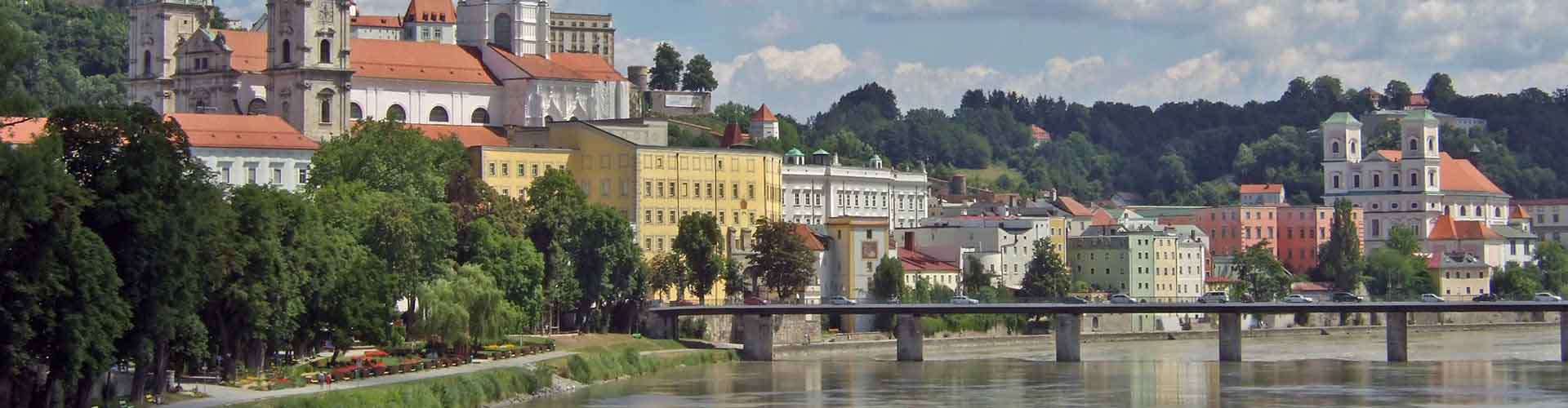 Passau - Albergues Juveniles en Passau. Mapas de Passau, Fotos y Comentarios para cada Albergue Juvenil en Passau.