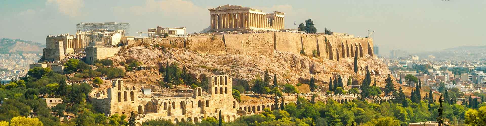 Atenas - Albergues Juveniles en Atenas. Mapas de Atenas, Fotos y Comentarios para cada Albergue Juvenil en Atenas.