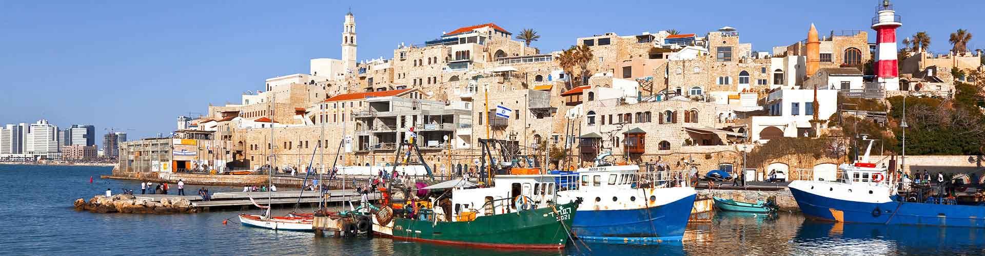 Tel Aviv - Albergues Juveniles en Tel Aviv. Mapas de Tel Aviv, Fotos y Comentarios para cada Albergue Juvenil en Tel Aviv.