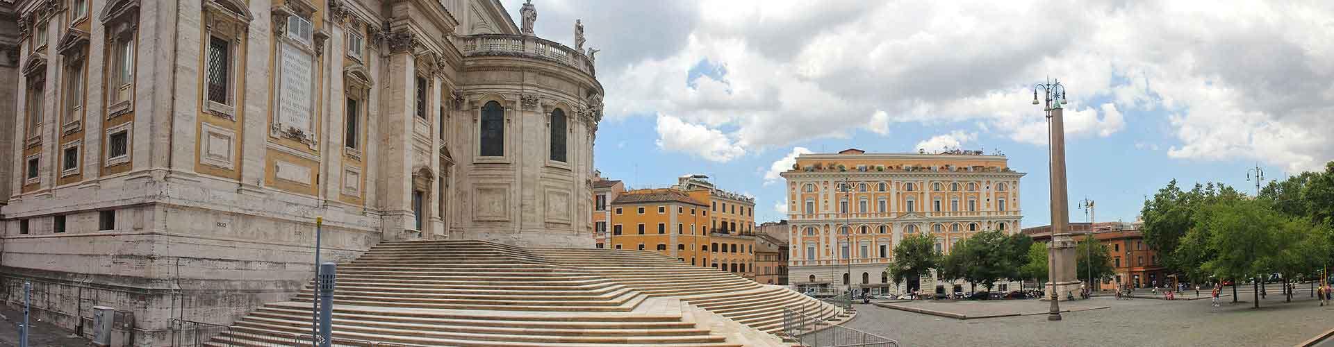 Roma - Albergues Juveniles en el distrito Esquilino . Mapas de Roma, Fotos y Comentarios para cada Albergue Juvenil en Roma.
