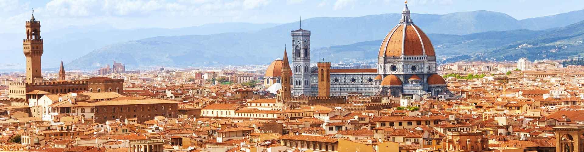 Florencia - Alojamientos para estudiantes, albergues Juveniles y espacios de trabajo compartido en Florencia (Italia). Mapas de Florencia, fotos y reseñas de cada lugar en Florencia.
