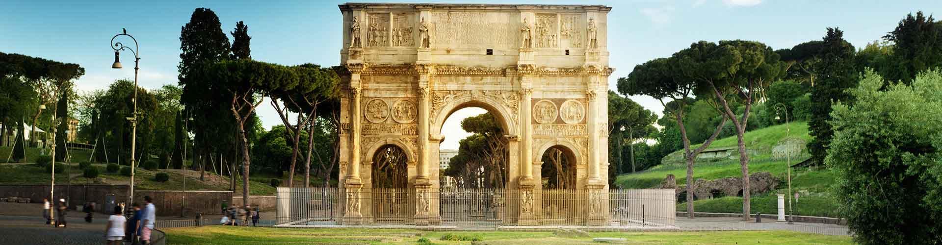 Roma - Albergues Juveniles cerca a Arco de Constantino. Mapas de Roma, Fotos y Comentarios para cada Albergue Juvenil en Roma.