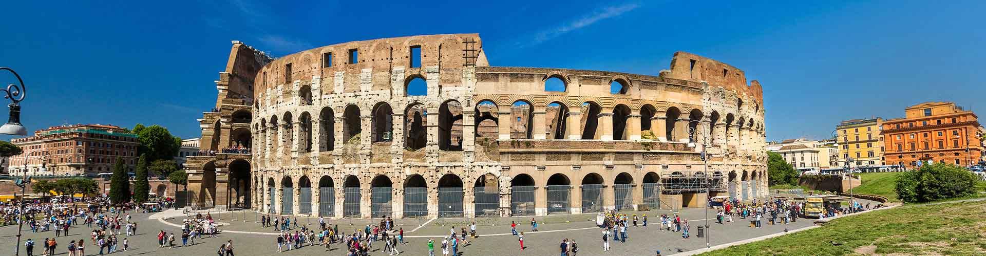 Roma - Albergues Juveniles cerca a Coliseo. Mapas de Roma, Fotos y Comentarios para cada Albergue Juvenil en Roma.