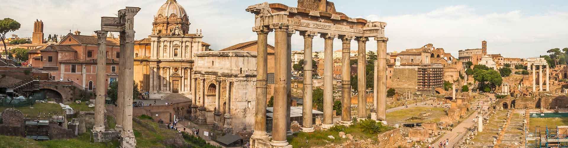 Roma - Albergues Juveniles cerca a Foro Romano. Mapas de Roma, Fotos y Comentarios para cada Albergue Juvenil en Roma.