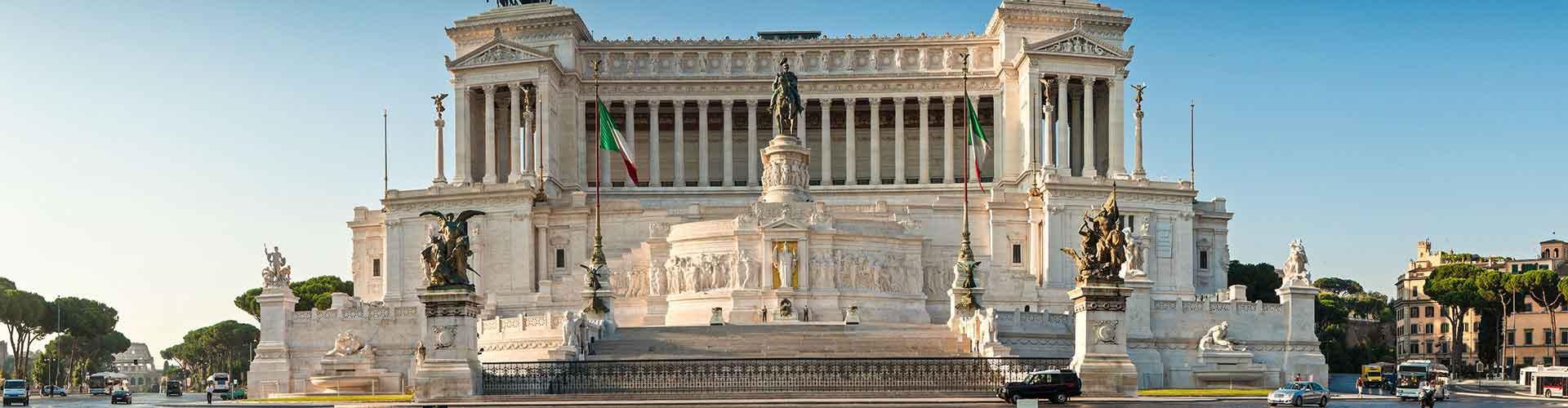 Roma - Albergues Juveniles cerca a Monumento a Vittorio Emanuele II. Mapas de Roma, Fotos y Comentarios para cada Albergue Juvenil en Roma.