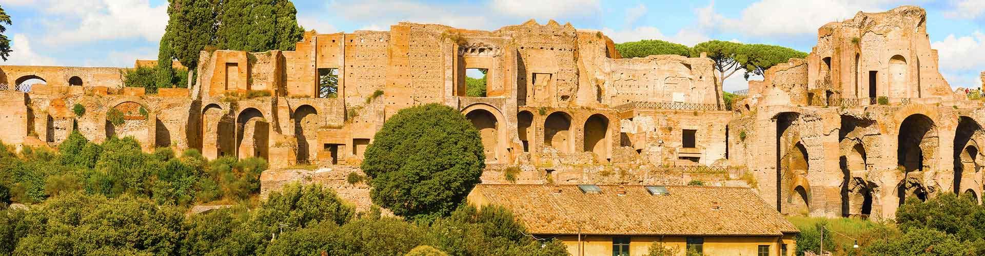 Roma - Albergues Juveniles cerca a Monte Palatino. Mapas de Roma, Fotos y Comentarios para cada Albergue Juvenil en Roma.