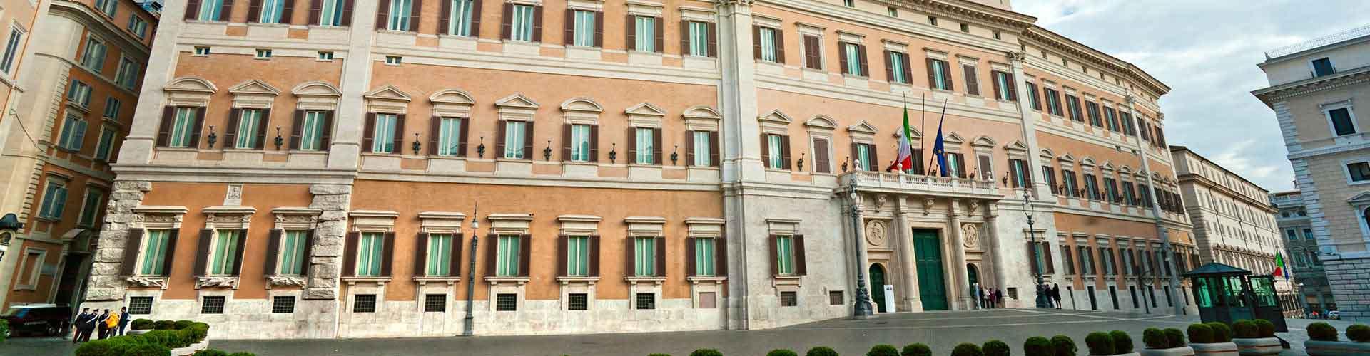 Roma - Albergues Juveniles cerca a Palazzo Montecitorio. Mapas de Roma, Fotos y Comentarios para cada Albergue Juvenil en Roma.
