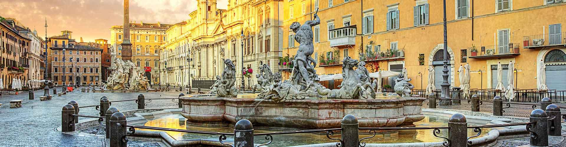 Roma - Albergues Juveniles cerca a Piazza Navona. Mapas de Roma, Fotos y Comentarios para cada Albergue Juvenil en Roma.