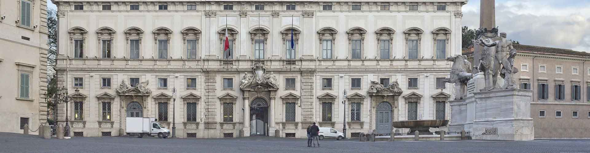 Roma - Albergues Juveniles cerca a Palacio del Quirinal. Mapas de Roma, Fotos y Comentarios para cada Albergue Juvenil en Roma.