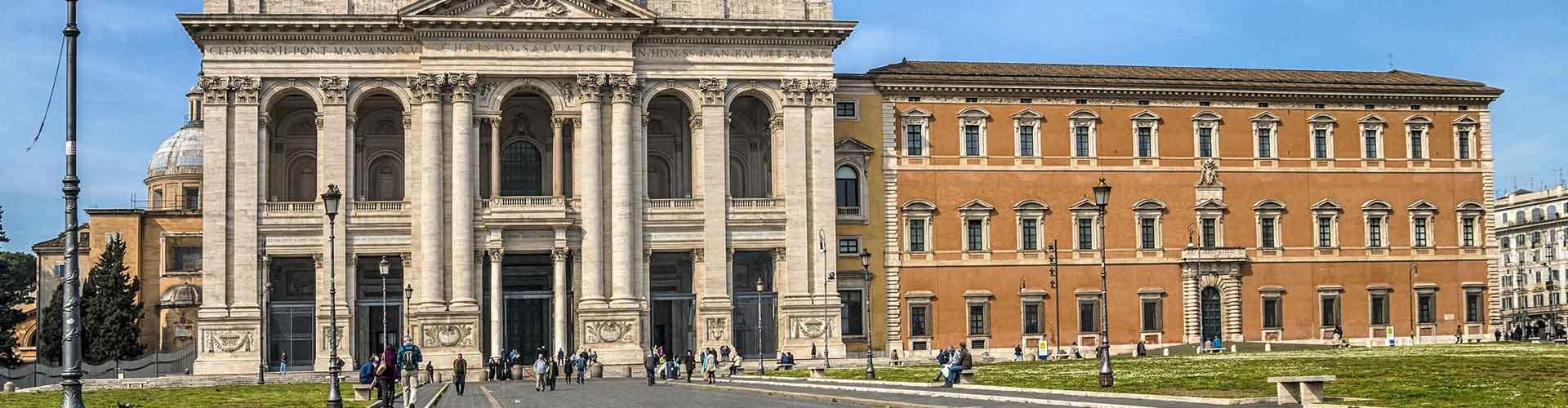 Roma - Albergues Juveniles cerca a San Giovanni in Laterano. Mapas de Roma, Fotos y Comentarios para cada Albergue Juvenil en Roma.