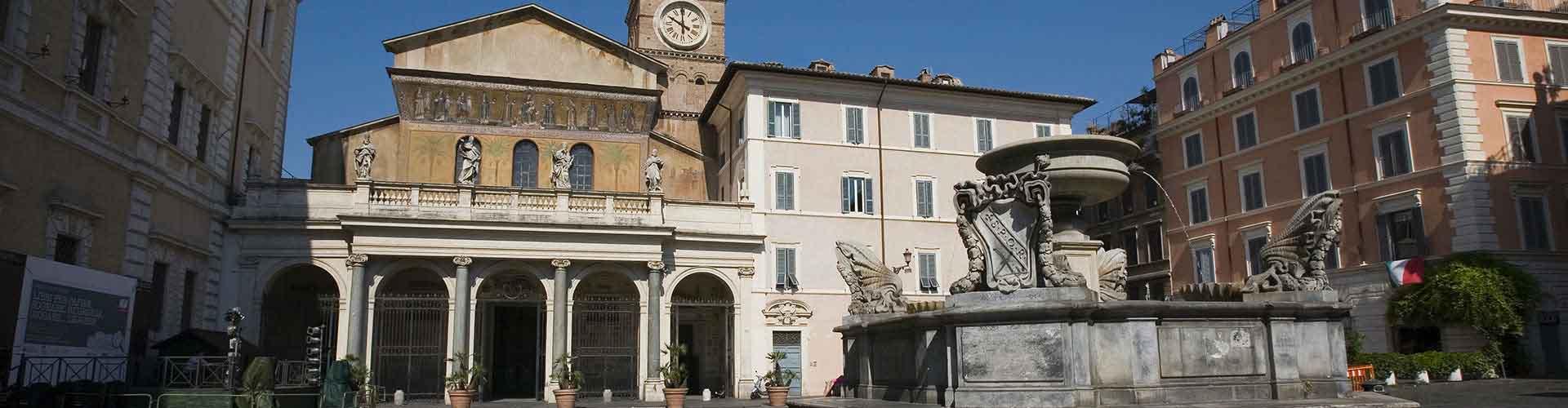 Roma - Albergues Juveniles cerca a Santa Maria in Trastevere. Mapas de Roma, Fotos y Comentarios para cada Albergue Juvenil en Roma.