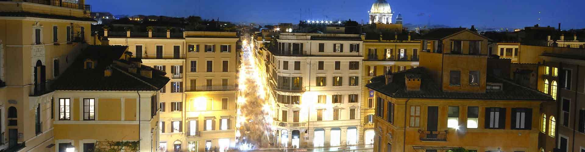 Roma - Albergues Juveniles cerca a Via Condotti. Mapas de Roma, Fotos y Comentarios para cada Albergue Juvenil en Roma.