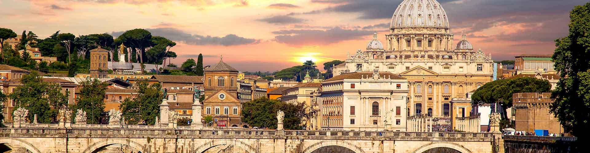 Roma - Albergues Juveniles  en Roma. Mapas de Roma, Fotos y Comentarios para cada Albergue Juvenil en Roma.
