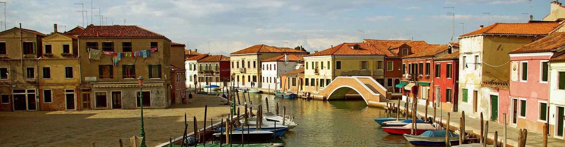 Venecia Mestre - Albergues Juveniles cerca a Aeropuerto Marco Polo. Mapas de Venecia Mestre, Fotos y Comentarios para cada Albergue Juvenil en Venecia Mestre.