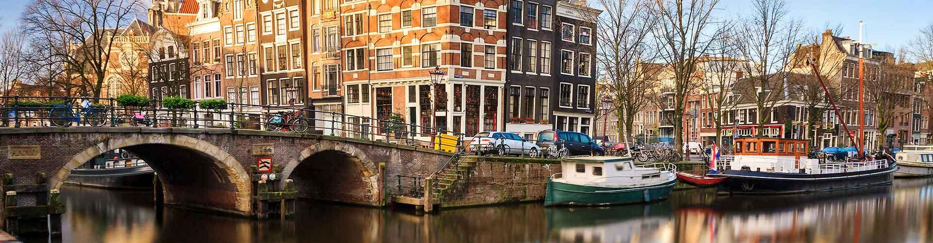 Amsterdam - Albergues Juveniles en Amsterdam. Mapas de Amsterdam, Fotos y Comentarios para cada Albergue Juvenil en Amsterdam.