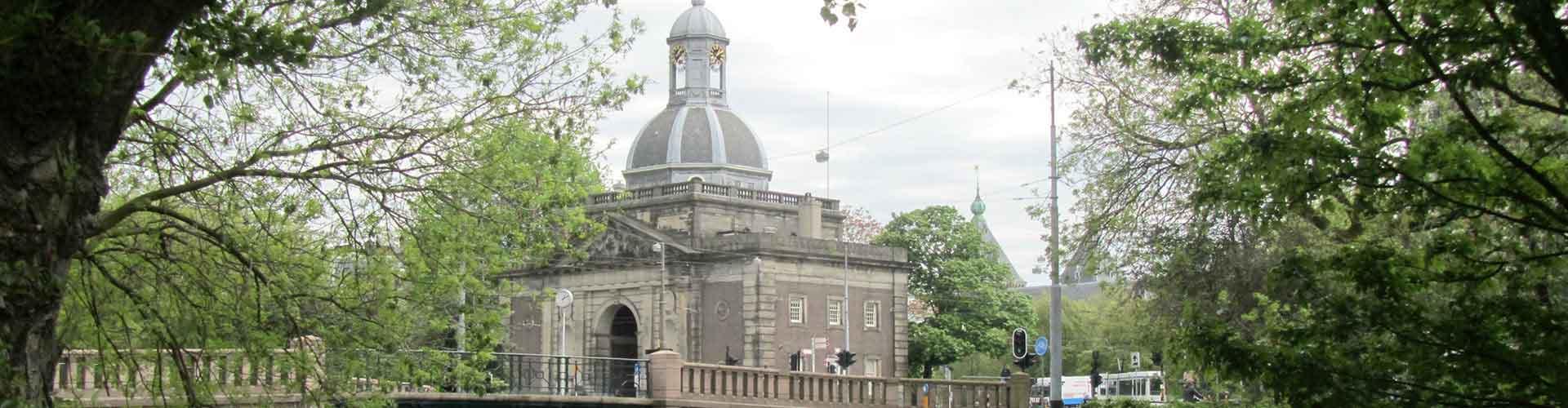 Amsterdam - Campamentos cerca de Estación de tren de Muiderpoort. Mapas de Amsterdam, Fotos y Comentarios para cada campamento en Amsterdam.